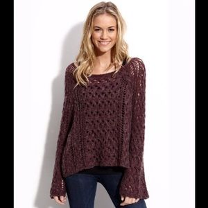 FREE PEOPLE Pegasus Knitted Pullover Size M